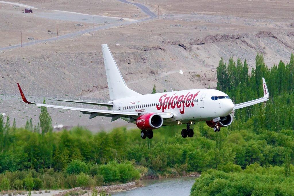 Avião Boeing 737 Spicejet