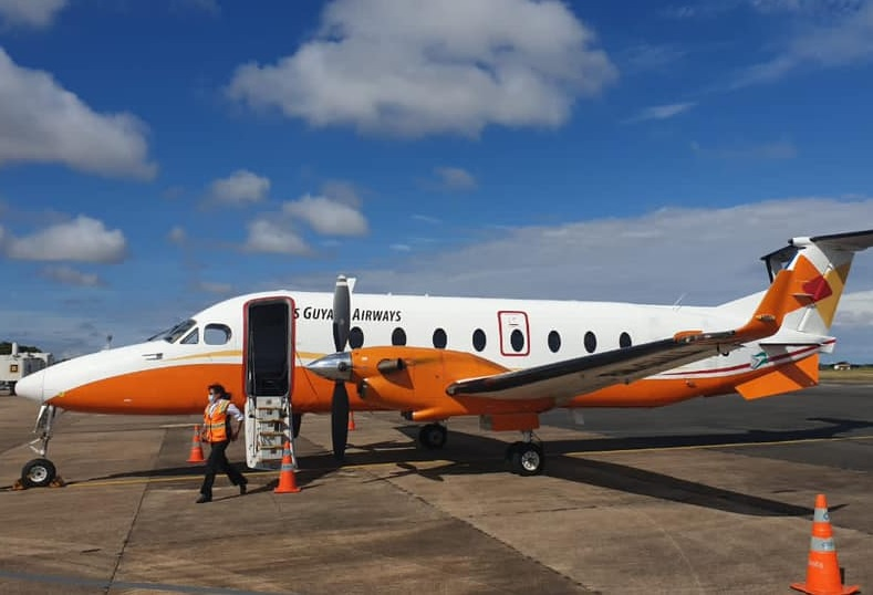 Avião Beechcraft 1900D Trans Guyana Airways