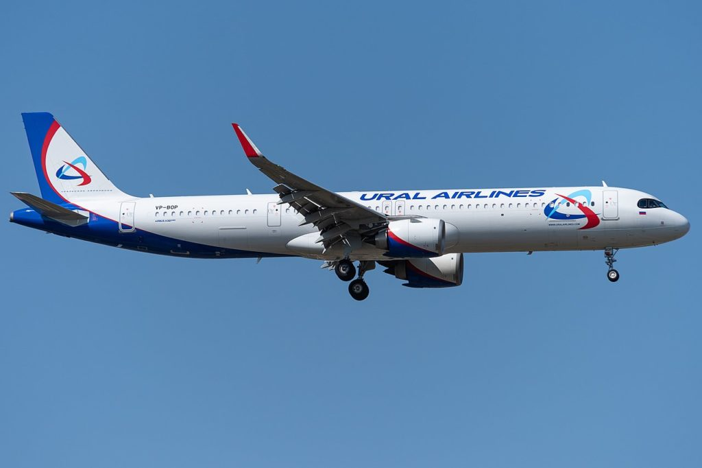 Avião Airbus A321neo Ural Airlines