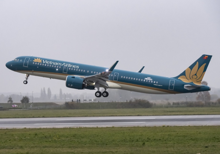 Avião Airbus A321neo Vietnam Airlines