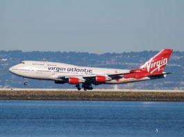 Avião Boeing 747-400 Virgin Atlantic