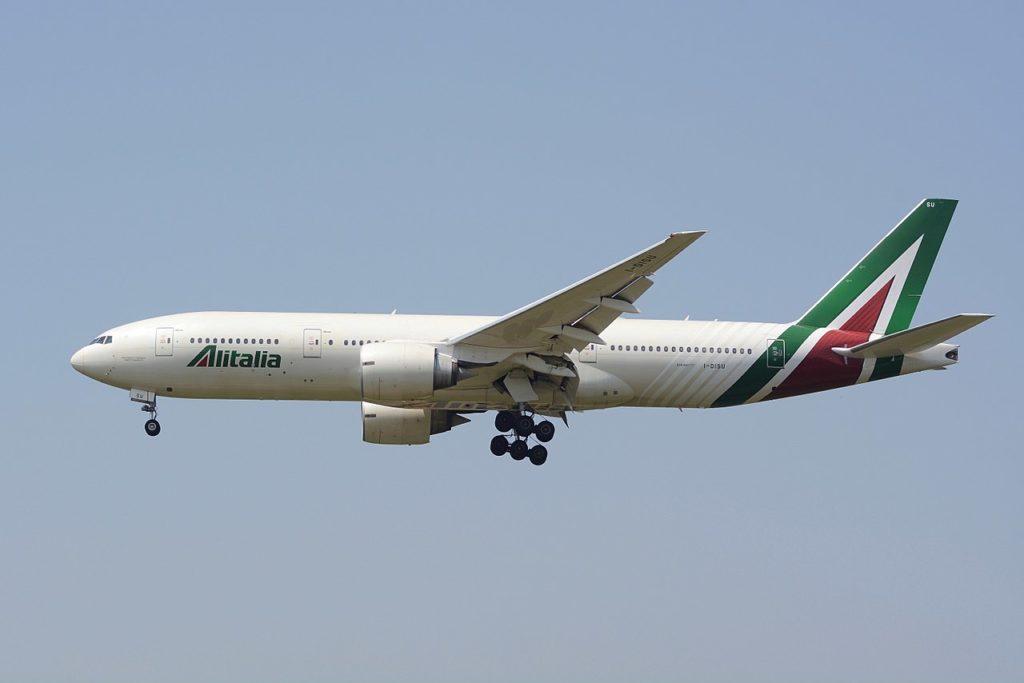 Avião Boeing 777-200ER Alitalia