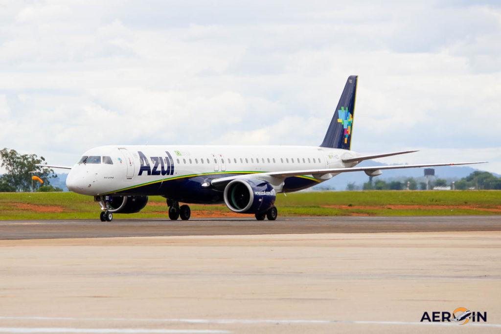 Avião Embraer E195-E2 Azul Linhas Aéreas