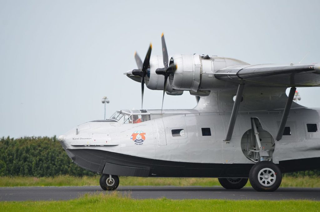 Avião Consolidated PBY Catalina