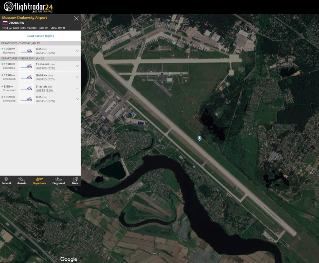 Aeroporto Internacional Zhukovsky