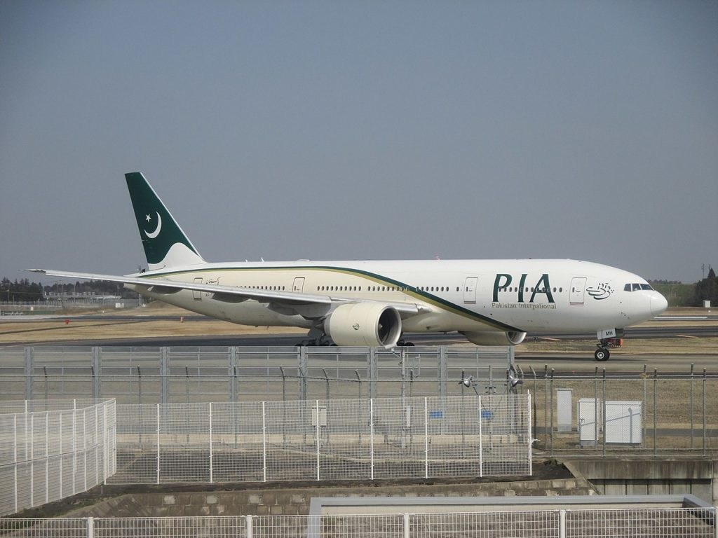 Avião Boeing 777-200ER PIA Pakistan International Airlines AP-BMH