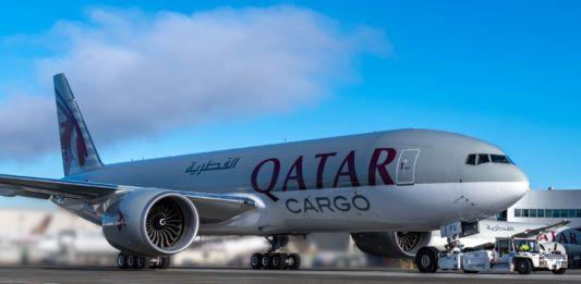 Avião Boeing 777F Qatar Cargo