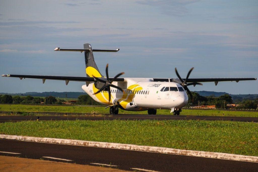 Avião ATR 72 VoePass Passaredo