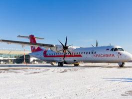 Avião ATR 72-500 KrasAvia