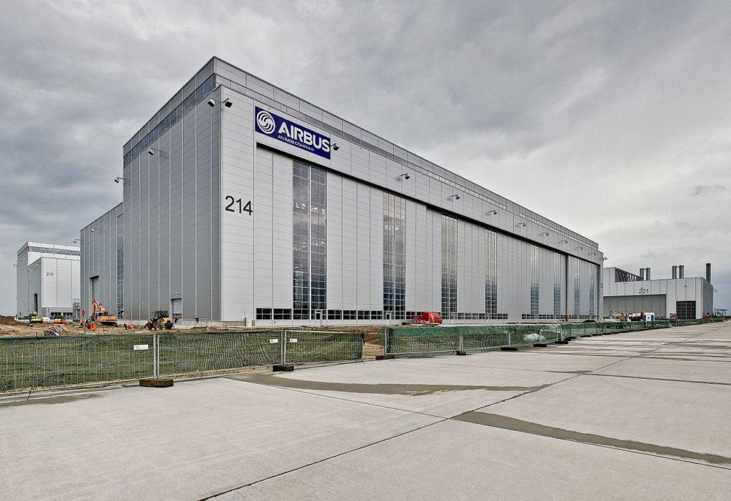 Airbus Hangar Hamburg