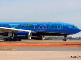 Avião Airbus A330-200 Tudo Azul