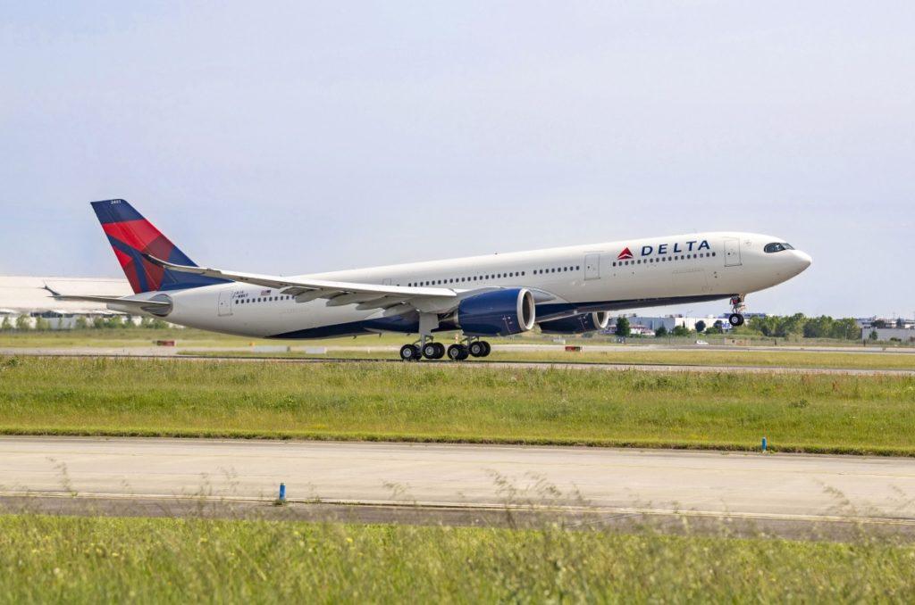Avião Airbus A330-900 A330neo Delta Air Lines