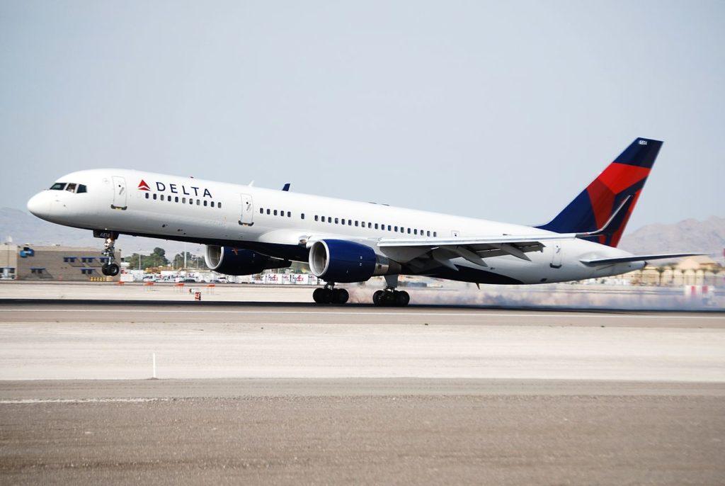 Avião Boeing 757-200 Delta Air Lines