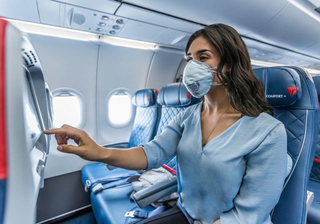 Delta Passageira Máscara Cabine