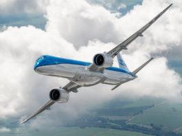 Avião Embraer E195-E2 KLM Cityhopper