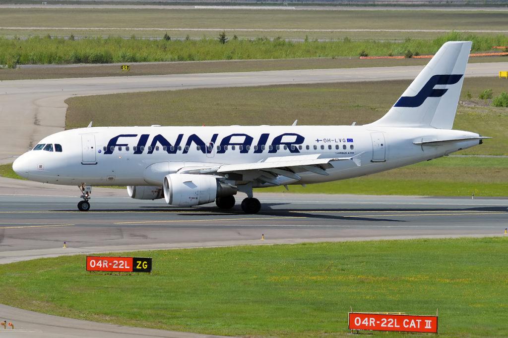 Airbus A319 Fin Air