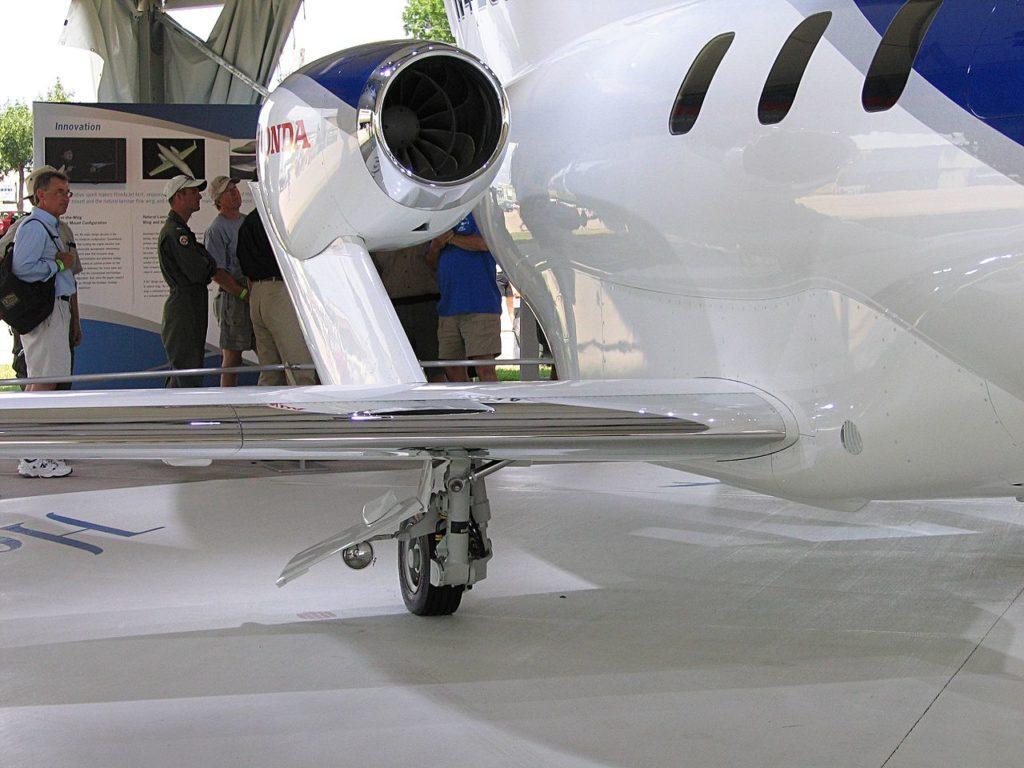 Avião Jato Executivo HondaJet Motor