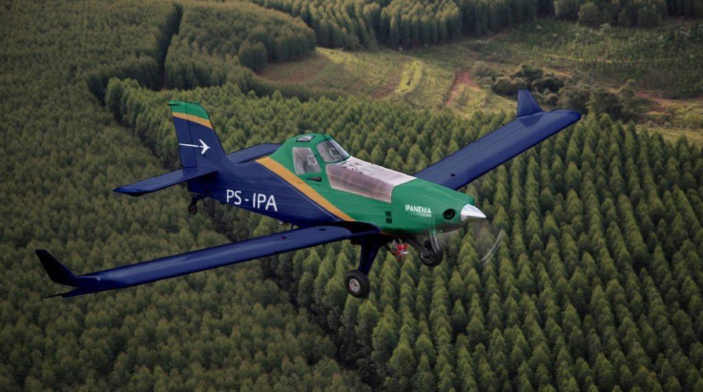 Avião Agrícola Embraer Ipanema 203