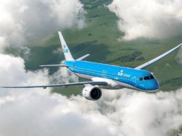 Avião Embraer E195 E2 KLM Cityhopper