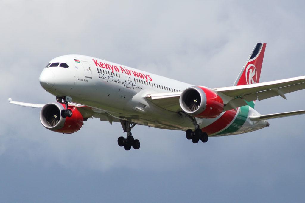 Avião Boeing 787-8 Kenya Airways