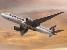 Avião Boeing 777F Qatar Airways Cargo