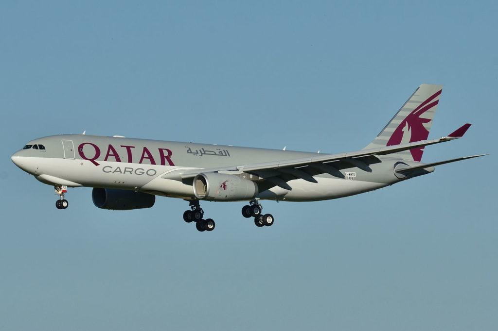Avião Airbus A330-200F A330F Qatar Airways Cargo