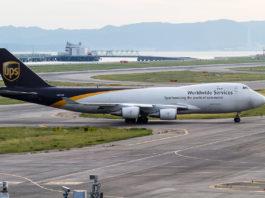 Avião Boeing 747-400F Jumbo UPS