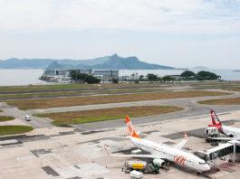 Aeroporto Santos Dumont Pátio Gol TAM