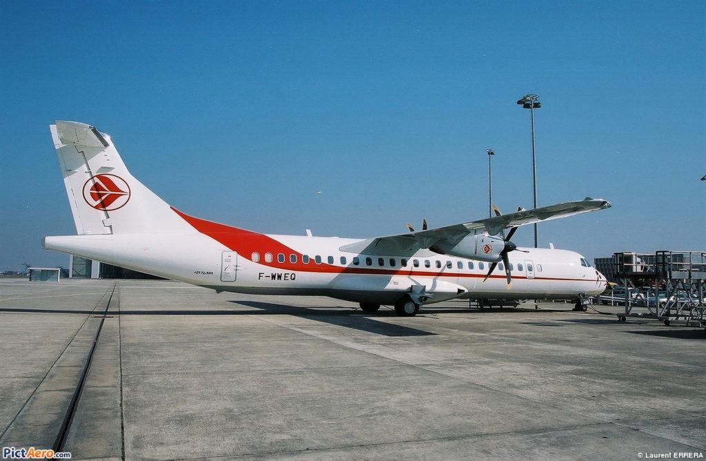 Avião ATR 72-500 Air Algérie