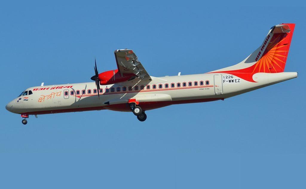 Avião ATR 72-600 Air India Express