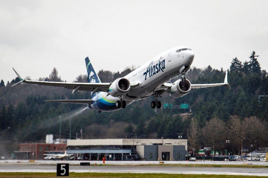 Boeing 737 Max Alaska Airlines