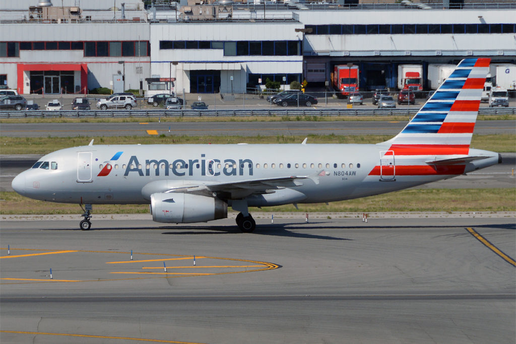 Avião Airbus A319 American Airlines