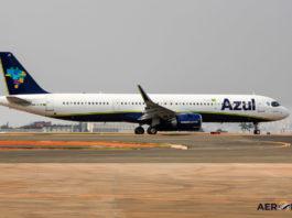 Avião Airbus A321neo Azul Linhas Aéreas