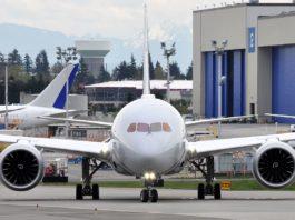 Avião Boeing 787-8 Dreamliner