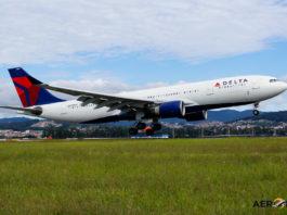 Avião Airbus A330-200 Delta Air Lines