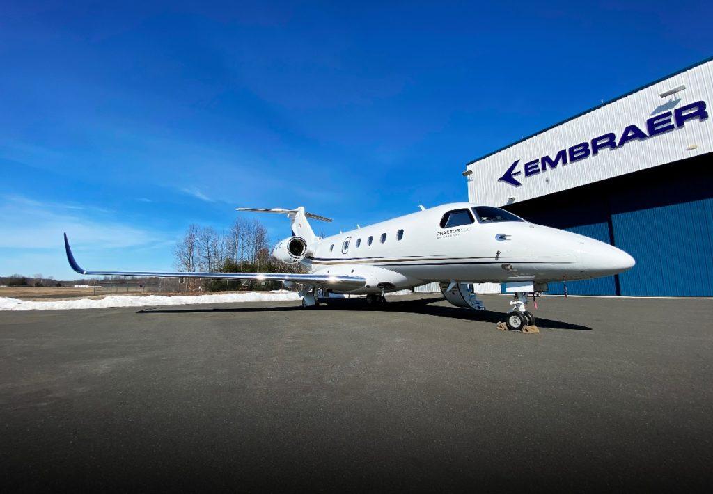 Avião Executivo Embraer Praetor 500