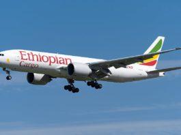 Avião Boeing 777F Ethiopian Cargo