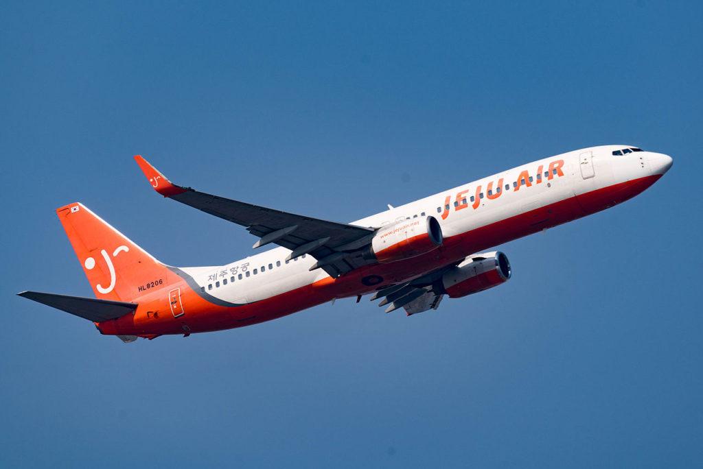 Avião Boeing 737-800 Jeju Air