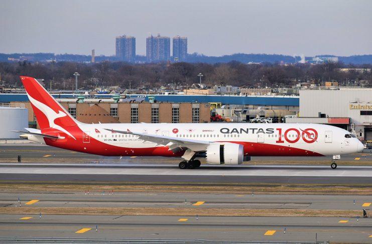 Avião Boeing 787-9 Dreamliner Qantas
