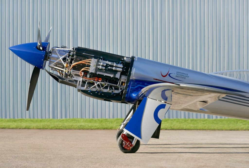 Rolls-Royce RR Avião Elétrico Spirit of Innovation