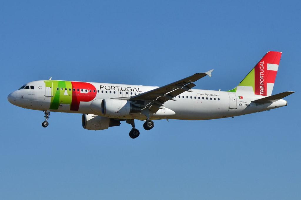 Avião Airbus A320 TAP Air Portugal