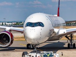 Avião Airbus A350-1000 Virgin Atlantic