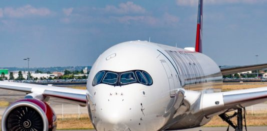Avião Airbus A350-1000 Virgin Atlantic