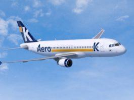Avião Airbus A320 Aero K