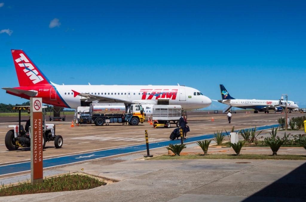 Aeroporto Foz do Iguaçu Pátio