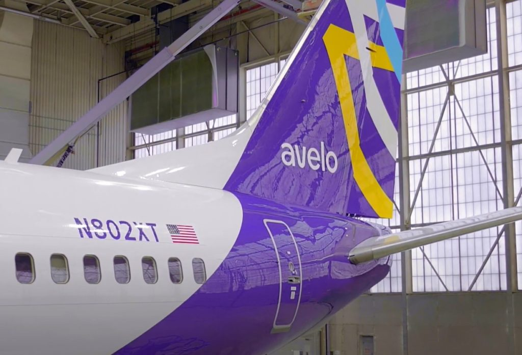 Avião Boeing 737-800 Avelo Airlines
