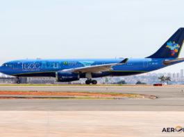 Avião Airbus A330-200 Azul TudoAzul