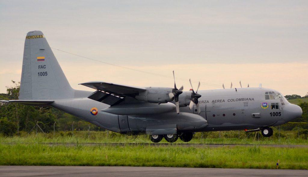 C-130 Hercules - Fuerza Aérea Colombiana