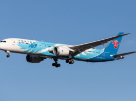 Avião Boeing 787-9 Dreamliner China Southern Airlines