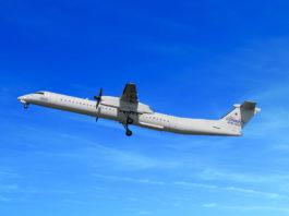 Avião Dash 8 Q400 Connect Airlines